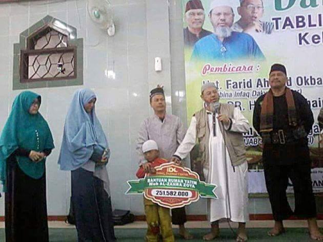 IDC, Yayasan Infaq Milik Orang Wahabi Ini Telah Menipu Istri Almarhum Zoya, Begini Modusnya