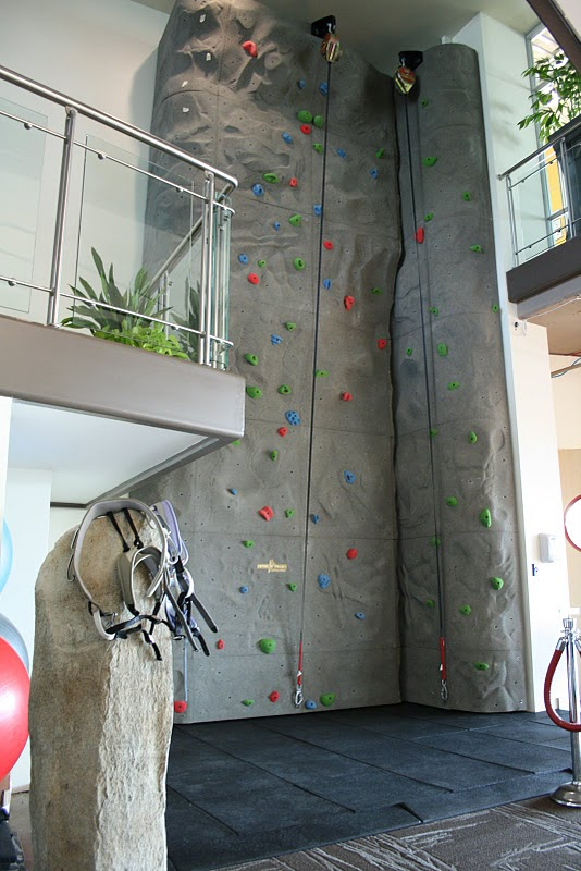 google office in seattle. Rock Climbing At The Kirkland Office. Google Office In Seattle