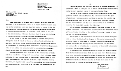 sejarah senjata nuklir : surat szilar kepada amerika