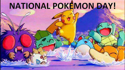 National Pokemon Day Wishes
