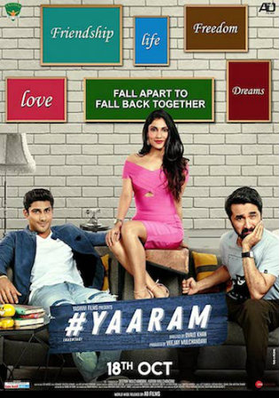Yaaram 2019 HDRip 300Mb Hindi Movie Download 480p