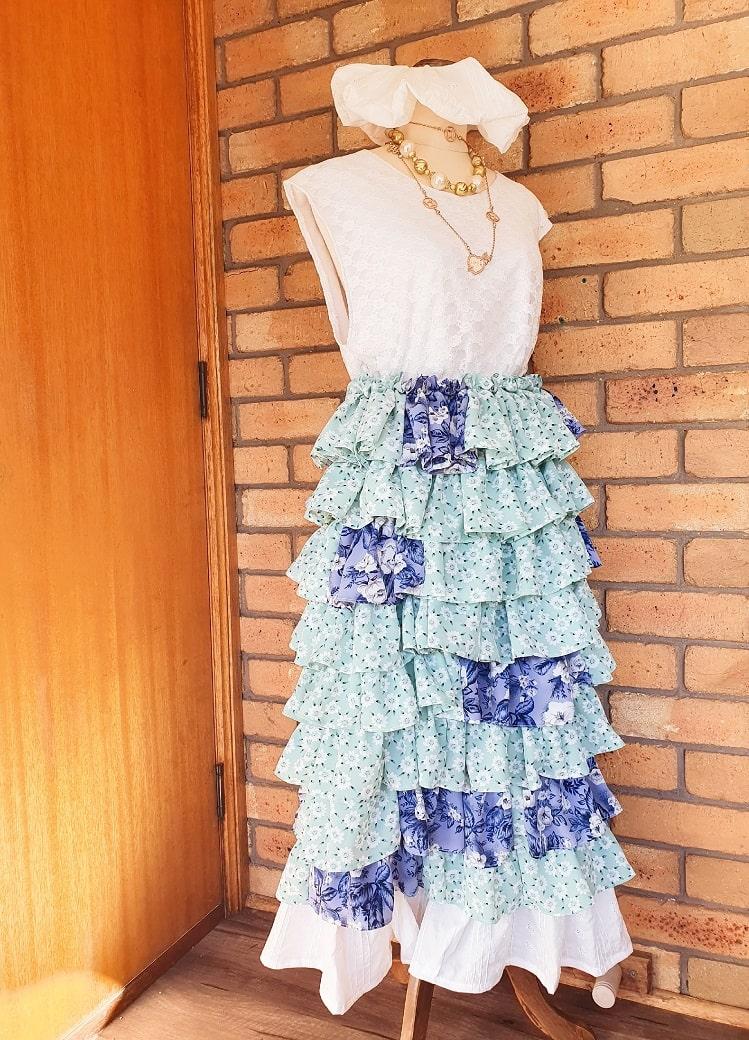 upcycle fashion, sustainable fashion, thrifting fashion