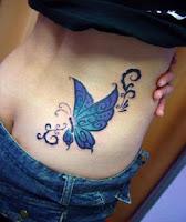 tatuaje de mariposa diseño original