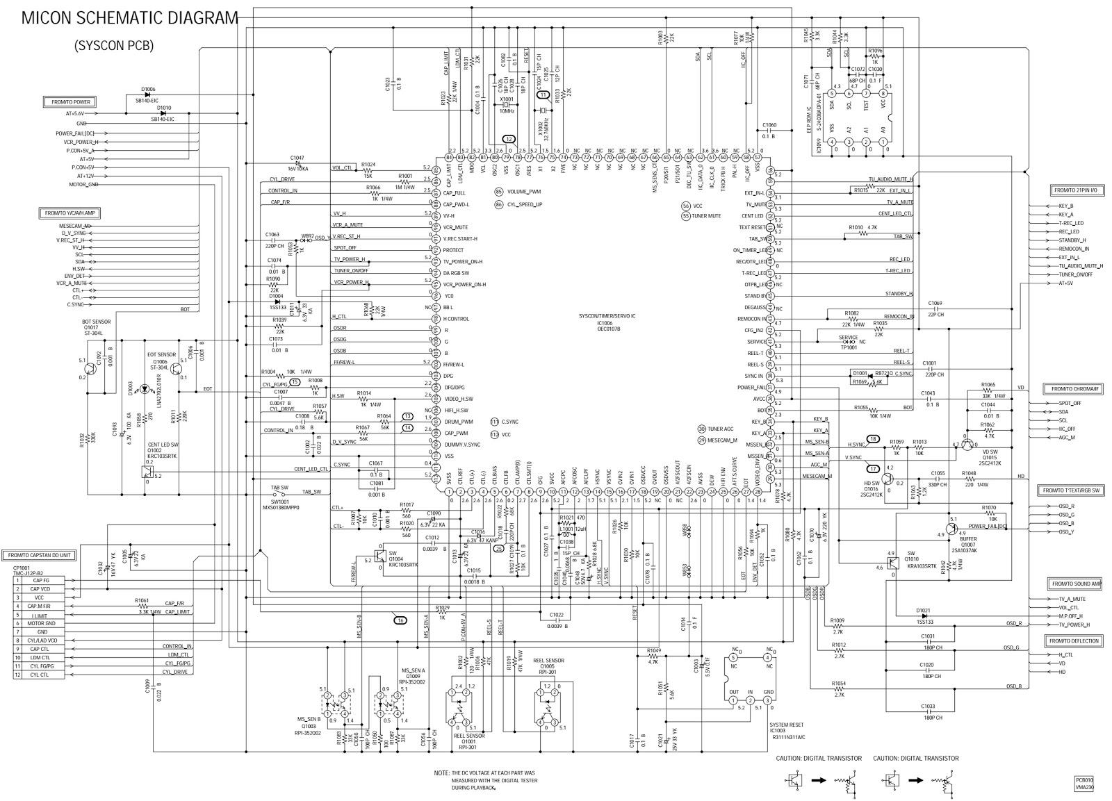 Electro Help Bush Btv17 Goodmans Gtv371vcr Orion Ctv