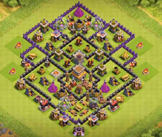Base CoC TH 8 Kedua