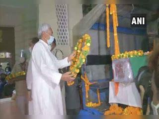 सीएम नीतीश कुमार, राबड़ी देवी ने दी रघुवंश प्रसाद को अंतिम श्रद्धांजलि