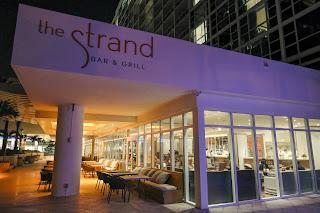 """ristorante """"The Strand"""" di South Beach."""