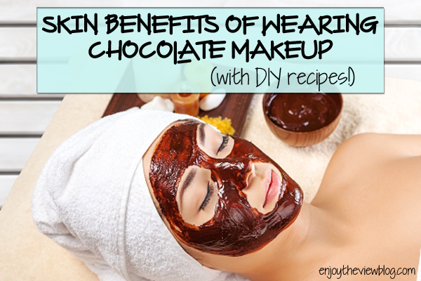 Want a guilt-free way to enjoy chocolate? Makeup and skincare products! Cocoa contains antioxidants and can increase circulation. Check out the DIY chocolate skincare recipes!