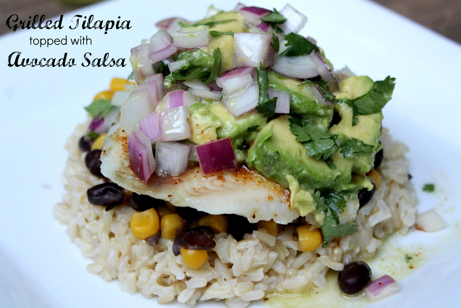 Grilled Tilapia with Avocado Salsa