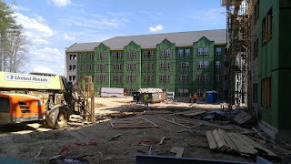Construction of new residence hall