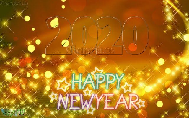 Happy New Year 2020 Sparkling HD Wallpapers
