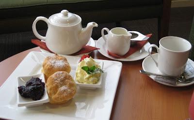 Devonshire tea inggris