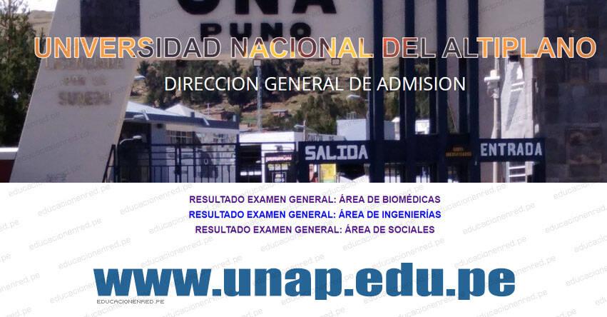 Resultados UNA Puno 2021-1 (Domingo 3 Octubre) Lista de Ingresantes - Examen General Presencial - Área Sociales - Universidad Nacional del Altiplano UNAP - www.unap.edu.pe