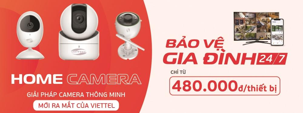 Lắp đặt camera quan sát chính hãng Viettel Camera