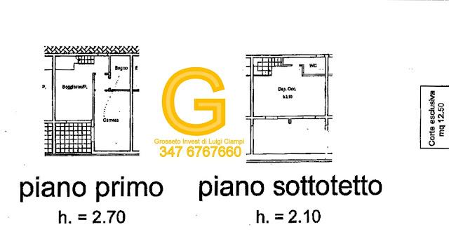 planimetria-appartamento-vendita-Principina a Mare - Via del rio Piccolo