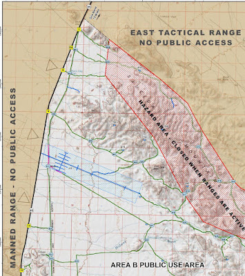 More T-Dubing exploration of Area B of the Barry Goldwater AF Range