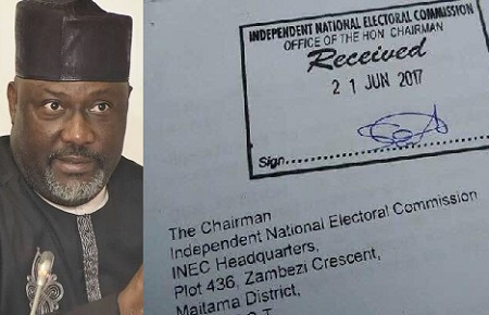 Photos of Signatures, Petitions Received By INEC To Recall Senator Dino Melaye
