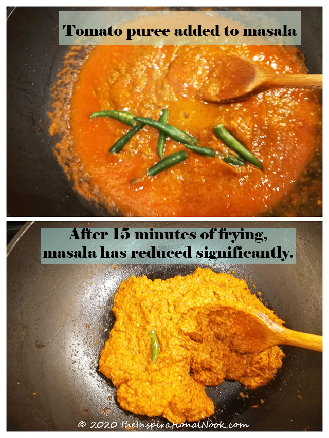 Frying masala