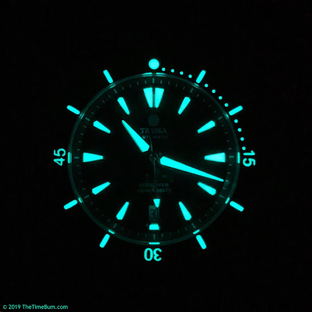 Traska Freediver, Version 2, lume