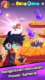 BoBoiBoy Galaxy Run Apk - Free Download Android Game