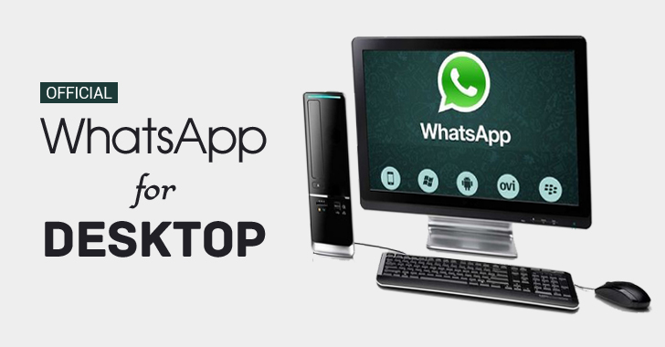 WhatsApp launches Desktop Software for Windows and Mac Users