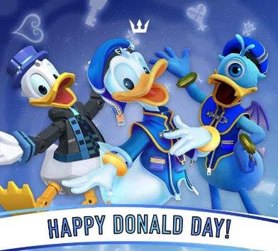 Happy Birthday Donald duck singing 2019