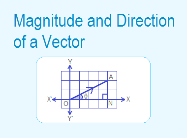 Magnitude and Direction of a Vector