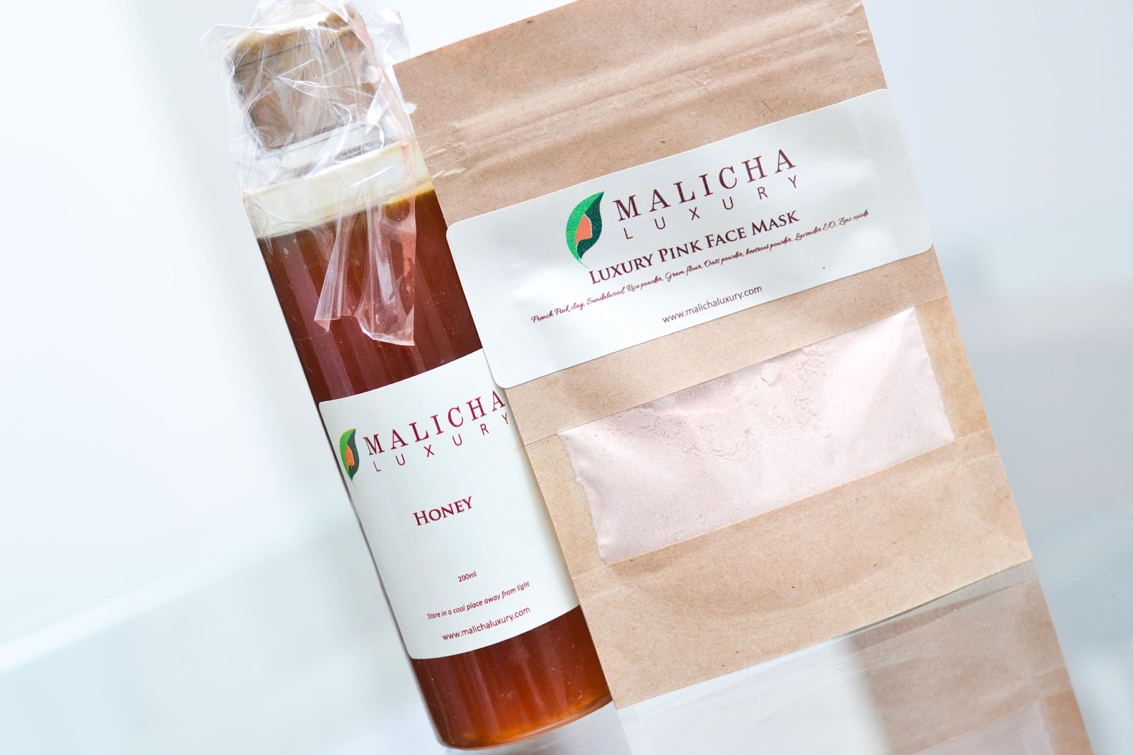 Malicha Luxury Face Mask & Honey