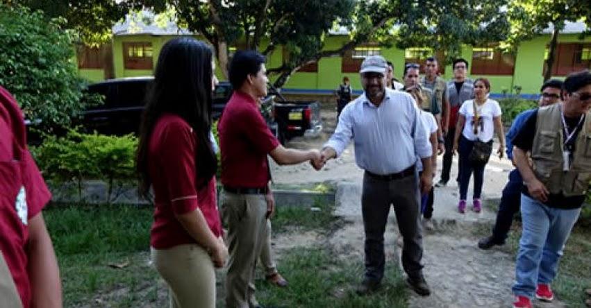 MINEDU: Ministro de Educación realiza visita de trabajo a Tarapoto - www.minedu.gob.pe