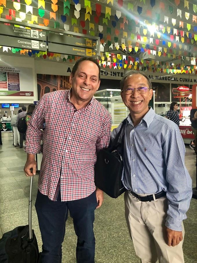 SOCIAL - Paulo Marinho recepciona embaixador da Tailândia no Maranhão