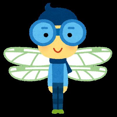 トンボのキャラクター(虫)