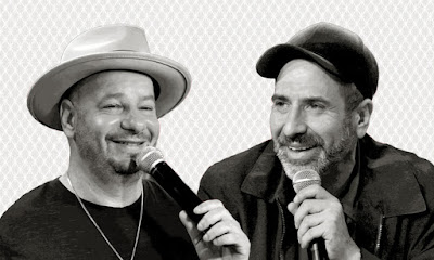 Jeff Ross and Dave Attell Bumping Mics
