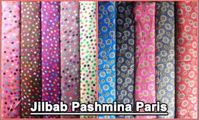 Grosir Jilbab Pashmina Sifon Dan Paris Motif Terbaru Harga