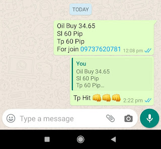 01-05-2020 Forex Trading Commodity Crude Oil Signal Prices