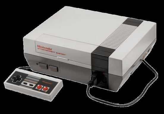 Nintendo Entertainment sistem NES (https://www.theoldcomputer.com )