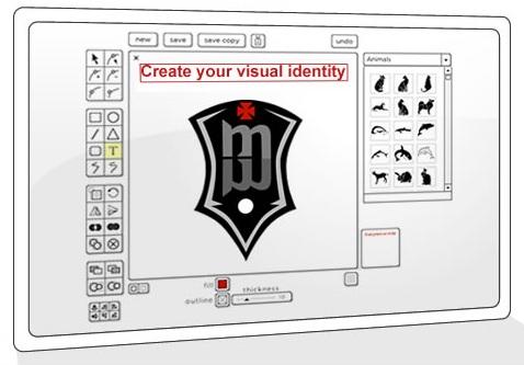 15 aplicaciones web para dise ar logos for Aplicacion para disenar interiores