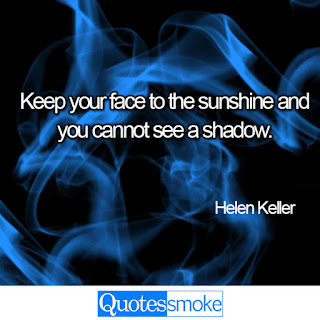 Helen Keller positive quote