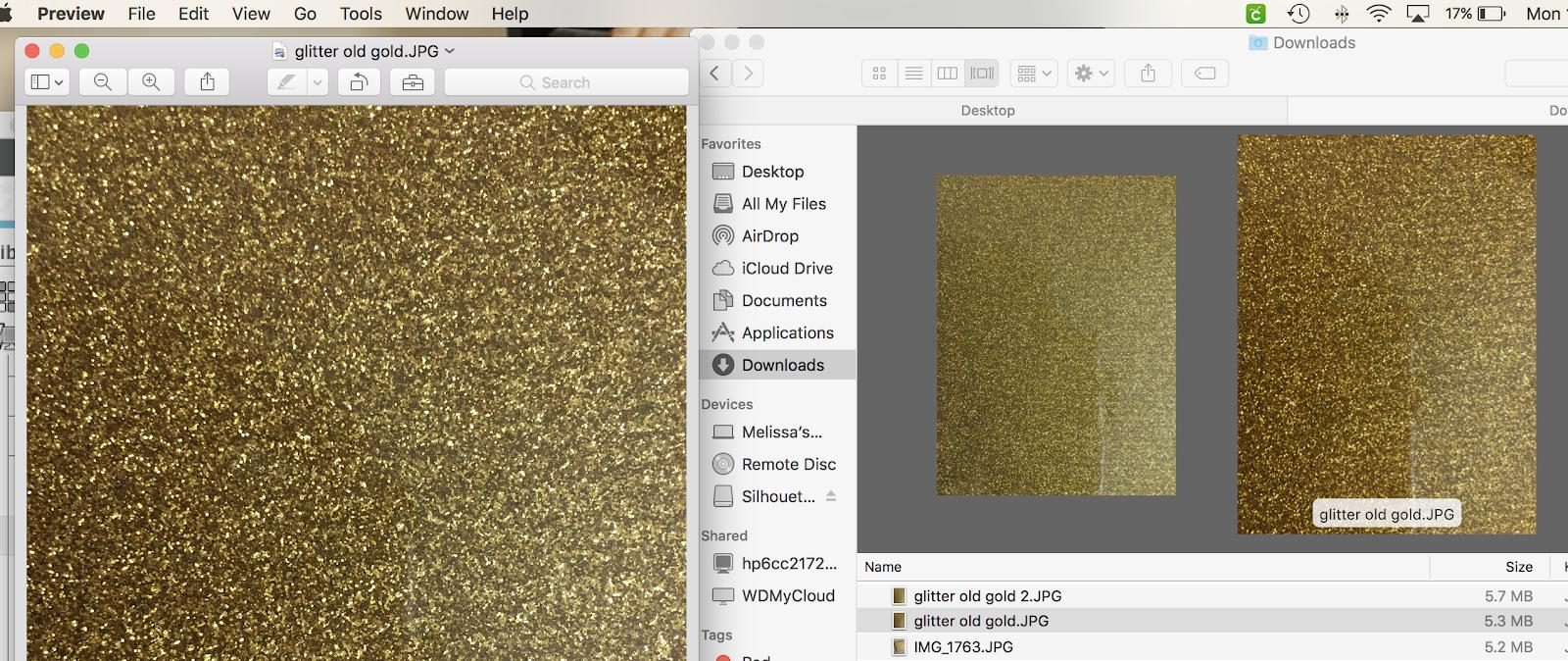 How to Make a Glitter Fill in Silhouette Studio - Silhouette