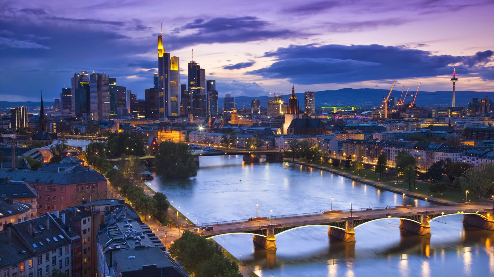 Frankfurt Germany wallpaper