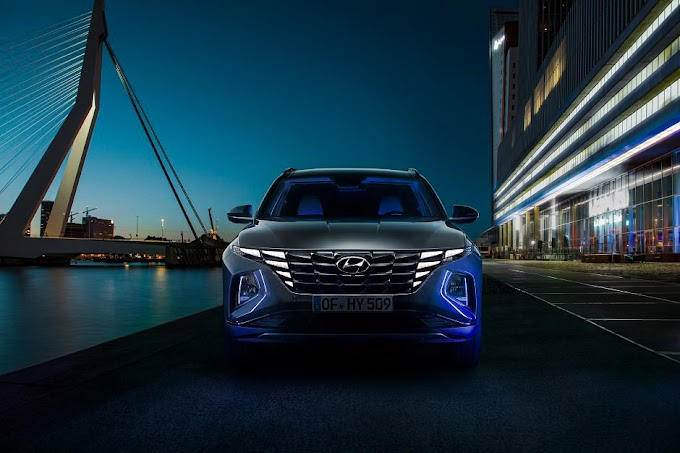 2021 The new Hyundai Tucson has officially revealed its modern look
