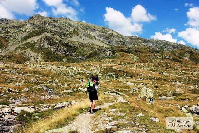 Alpy Włochy szlak górski Via Spluga