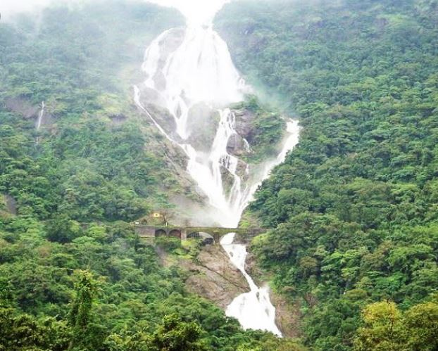 Most visited  the highest waterfall in India