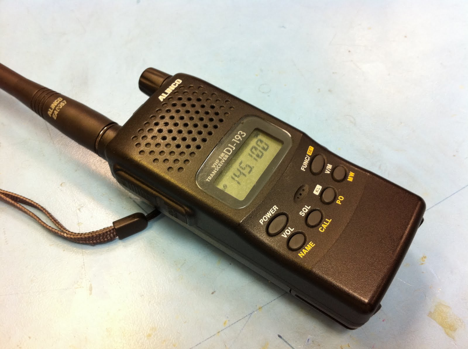 The Repair Blog: Alinco DJ-193 no sound from internal speaker