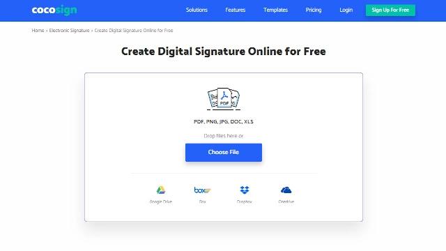create digital signature for free