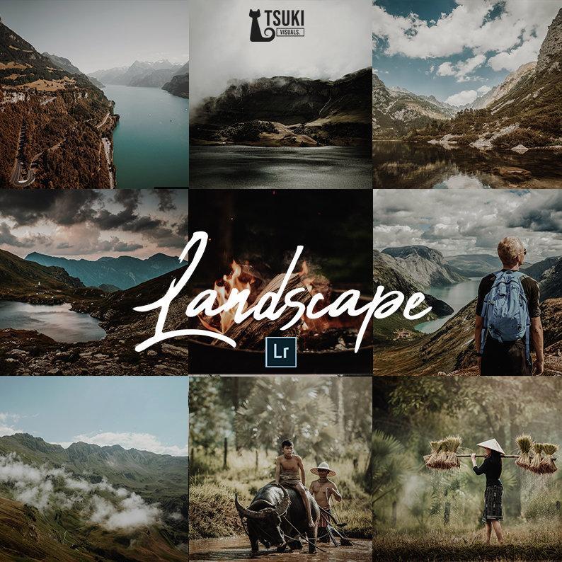 10 Presets Tuyệt Vời Blend Ảnh Chụp Phong Cảnh – Landscapes Lightroom Presets (LR, DNG)