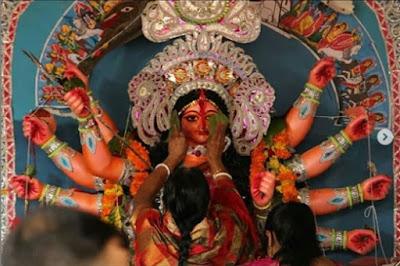 Debi Boron Durga Puja