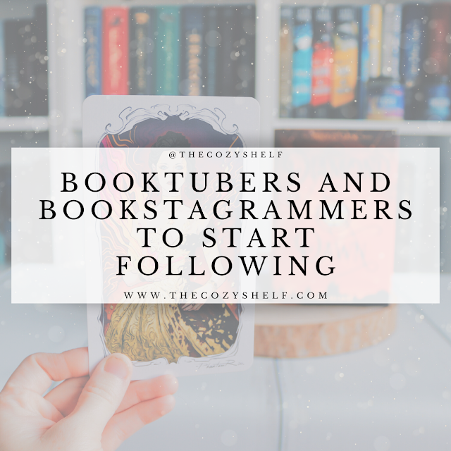 Favorite Booktubers and Bookstagrammers