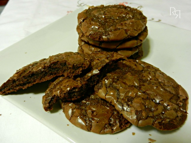 """Galletas brownie"""