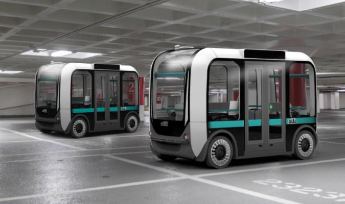 'Olli' Self-Driving Bus 3D-Printed Pertama di Dunia