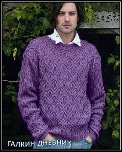 pulover spicami dlya mujchin (2)